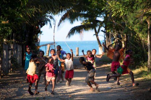 enfants du village-MAHAMBO